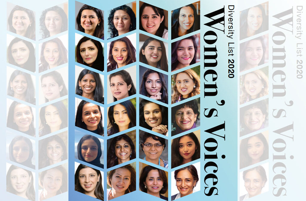 The Diversity List 2020: Women's Voices
